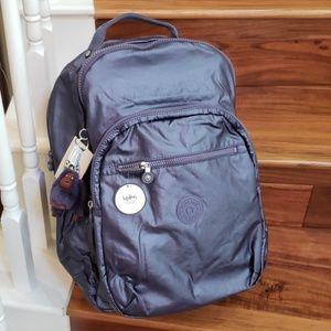NWT kipling Seoul XL laptop protection backpack